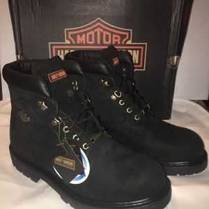 Harley Davidson Badlands Boots 12 NEW with Box